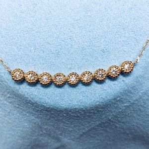 Jewelry - Solid Gold diamond necklace